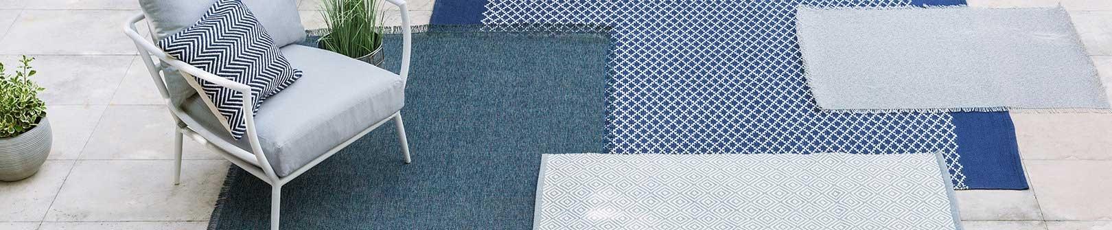 Teppiche im Freien