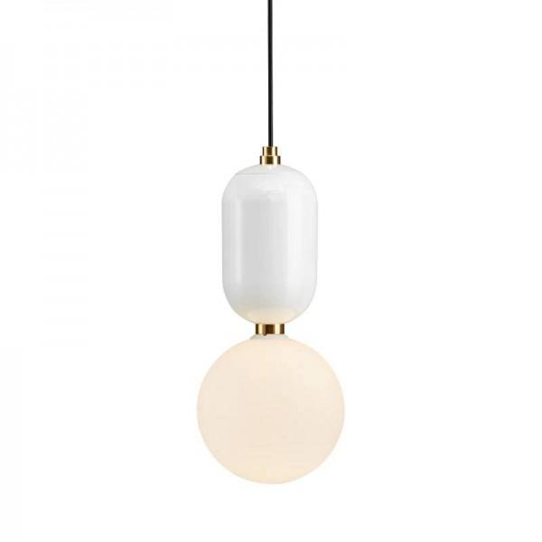 Kreative Nordic LED Pendelleuchte Platte Metall Milchig Milchglas Schatten einfache Pendelleuchte Kung G9 led-lampe Für Esszimmer