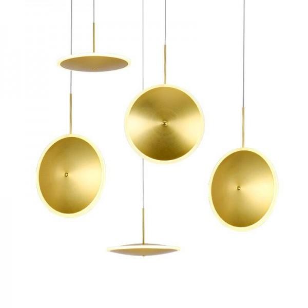 Foyer LED Pendelleuchten moderne einfache nordische Individualität kreative Esszimmer Droplight dänische Macaron Luminum Hängelampe