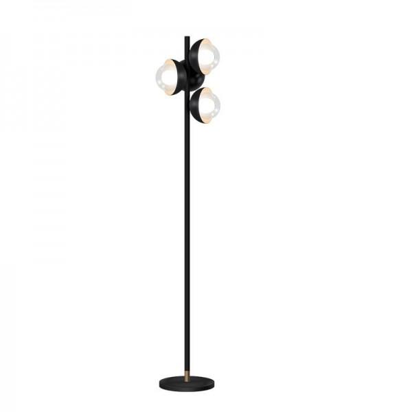 Kung Simple Modern Stehleuchten schwarz Farbe Körper klar galss Lampenschirm Creative Night Stehleuchte G9 LED Birne postmodernen Licht