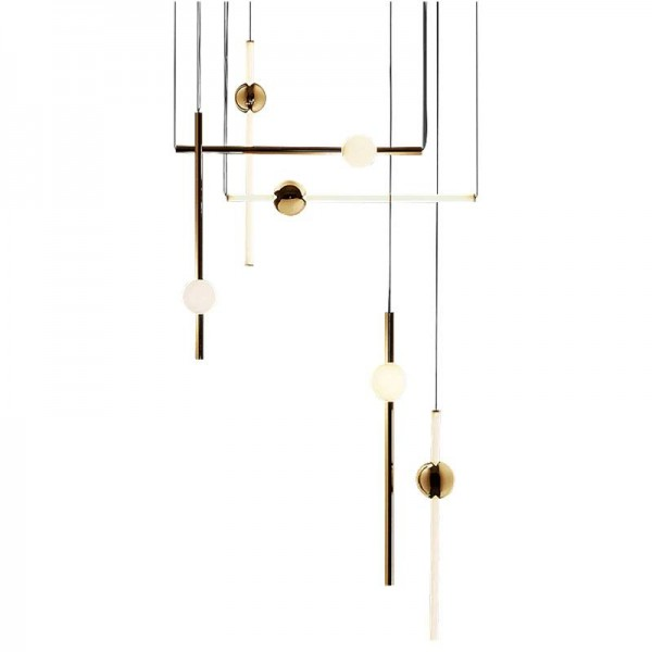 Neue arrical Post moderne einfache Restaurant Pendelleuchten Foyer Schlafzimmer Coffee Shop Deko LED Droplight Metall Körper Glas Lampenschirm