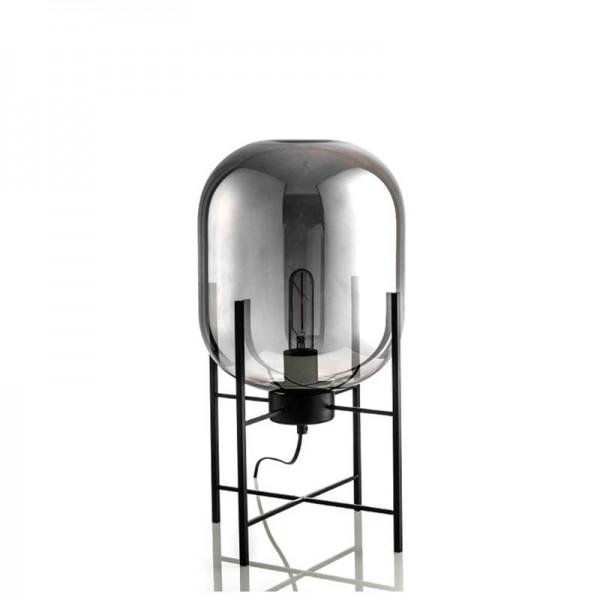 Kreative einfache Tischlampe Glas Lampenschirm Schreibtisch Licht schwarzer Körper neues Design Shop Dekoration Nachttisch