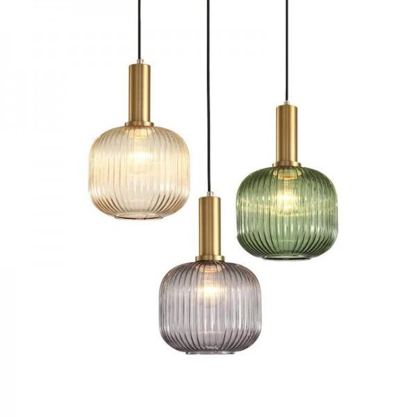 Nordic Bar Pendelleuchten Designer Einfache Post moderne Licht Luxus Esszimmer Schlafzimmer Nacht Glas LED Droplight