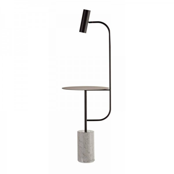 NEUE einfache moderne kreative schlafzimmer stehleuchte wohnzimmer Eisen halterung stehleuchte gold schwarz metall körper marmor basis led lampe