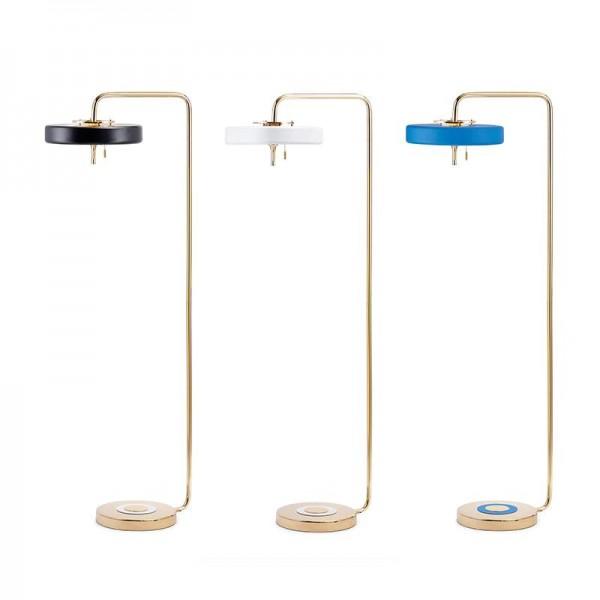 Nordic Modern Stehleuchte Creative Nightstand weiß schwarz blau Lampenschirm Scene 3W weiß E14 LED Lampe von DHL FEDEX UPS frei