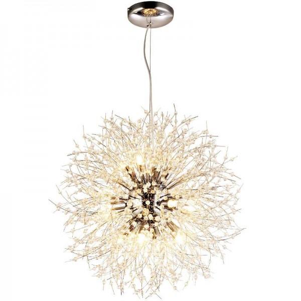 Noric einfache Löwenzahn LED Pendelleuchte Kung Clear Crystal Modern Kreative für Dining Master Room Restaurant Wohnzimmer Shop