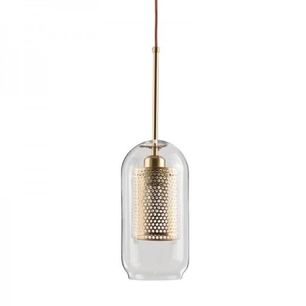 Post moderne nordische Kreative wohnzimmer pendelleuchten restaurant schlafzimmer klarglasschirm dekoration droplight E27 lampenfassung