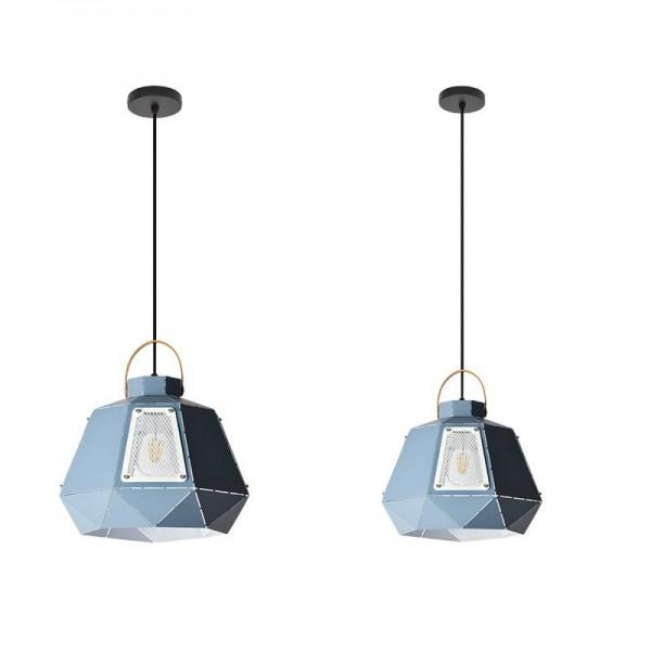 Kreativer einzelner Kopf der modernen einfachen macaron Pendelleuchte mit lichtdurchlässiger Lochrestaurantfoyerbüro-Nachttischlampe