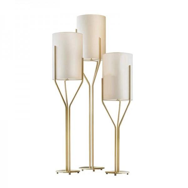 Förderung Einfache Moderne Stehleuchte E27 led lampe nordic Kreative stehleuchte metall körper weißen lampenschirm Szene kunst dekoration