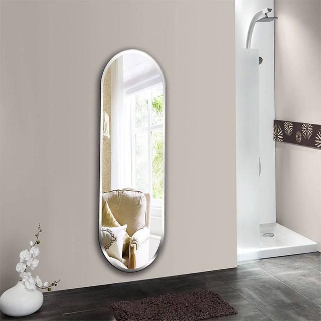A1 Badezimmerspiegel Wandbehang Bad Schlafzimmer Kosmetikspiegel Wandbehang explosionsgeschützter Spiegel wx8221917