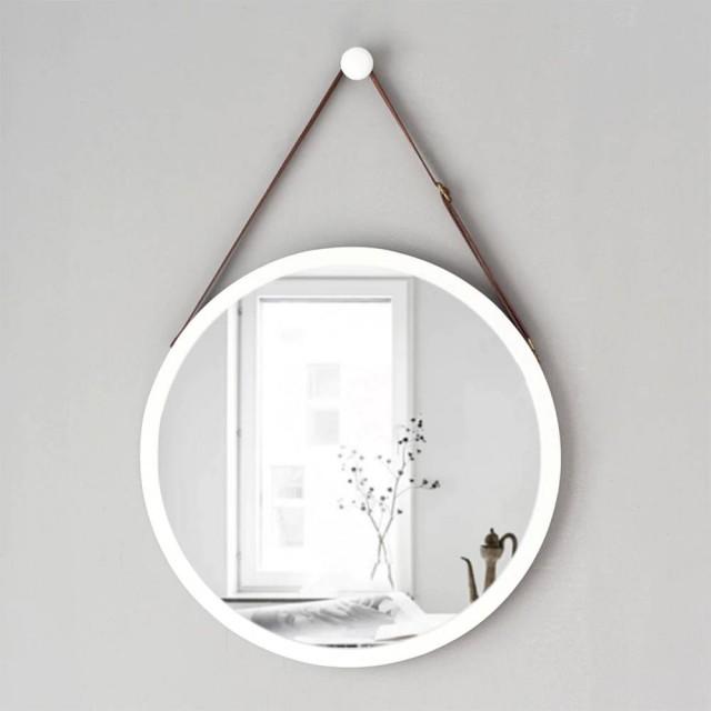 A1 Europäischen stil runde hängende spiegel waschbecken hotel bad wandbehang makeup dressing spiegel wx8281135