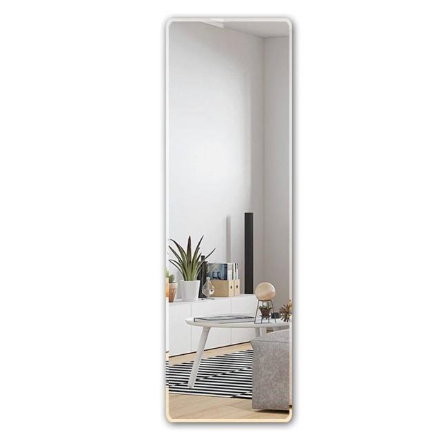 Bodenspiegel in voller länge dressing spiegel wandbehang paste einfache rahmenlose spiegel schlafzimmer kleiderschrank montagespiegel wx8241113