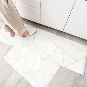10 design küche fußmatten ölbeständig wasserdicht langen streifen rutschfeste fußmatten ins metall windmatte hause streifen teppich für schlafzimmer