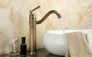 """13 """"Antique Brass Armaturen Swivel Küchenspüle Waschbecken Wasserhahn Mischbatterie 9883A"""