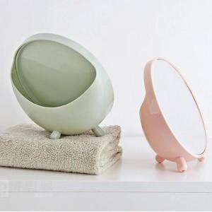 1 STÜCK Desktop kosmetikspiegel runde kosmetikspiegel student schlafsaal desktop spiegel tragbare prinzessin spiegel wx8291807