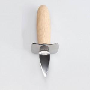 1 stück Edelstahl Holzgriff Austernmesser scharfkantigen Shucker Shell Meeresfrüchte Opener Werkzeug Multifunktions Utility Kitchen Tools