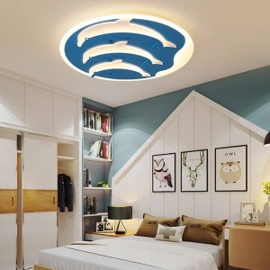 Kinder Deckenleuchten für Kinderzimmer Dimmer oder Schaltersteuerung Moderne Deckenleuchte für 10-15qm Plafondlampe