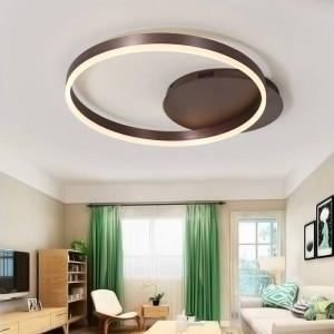 219 moderne Kinderzimmer LED-Deckenleuchten für Schlafzimmer mit Fernbedienung Lamparas de Techo Dimmlampe Kaffeelichter