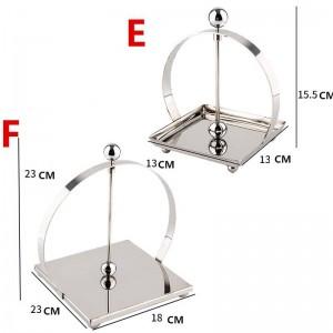 304 Edelstahl SLIVRE Toilettenpapierhalter Badaccessoires Küchenpapierhalter