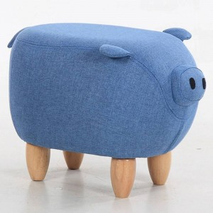 35% Rabatt auf Sale! Tuch Sofa Schuh Hocker Hocker Stuhl Ottoman Sitzsack Kid Toys Hocker Massivholz Nordic Home Deco Möbel Schwein