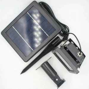 3 Combo wiederaufladbare Solar LED Flutlicht Flutlicht Lampe wasserdicht Solar Licht Außenwandleuchte Sicherheit Spot Licht