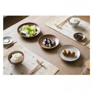 7 teile / satz Japan stil Förderung keramik procelain abendessen set BLUE TABLEWARE SETS ENTHALTEN SCHÜSSEL PLATTE 7 stücke liebhaber abendessen set