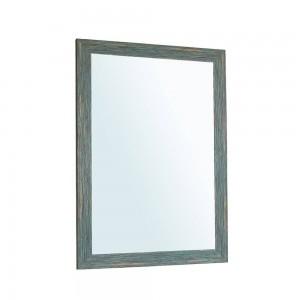 A1 Blau retro badezimmerspiegel wandbehang wohnzimmer toilette kosmetikspiegel wx8221506