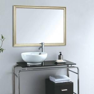 A1 Europäischen badezimmerspiegel schmale grenze hause wandbehang veranda wohnzimmer kosmetikspiegel wx8221449