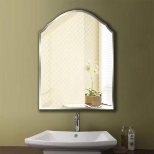 A1 Einfache rahmenlose Badezimmerspiegel Wandbehang Schlafzimmer Bad WC Make-up Dressing Wandspiegel wx8231035