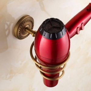 AB1-Serie Antik gebürstetem Kupfer Haar Rack Neuheit Haushalte Rack Fön Halter Wand hängen Badezimmer Regale