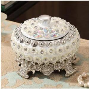 Advanced Harz Aschenbecher, schöne Perle Muster, Home Office Supplies