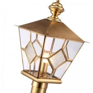Alle Kupfer Landschaft Beleuchtung Europa Stil Villa Garten Veranda E27 Lampe Garten im Freien Grünland Lampe im Freien Wasserdichte Beleuchtung