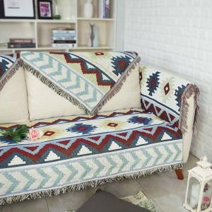 Alle Spiel exotische Ripple Throw Decke Baumwollfaden Sofa Cover geometrische Schonbezug Cobertor Decken für Betten Quaste Weihnachten