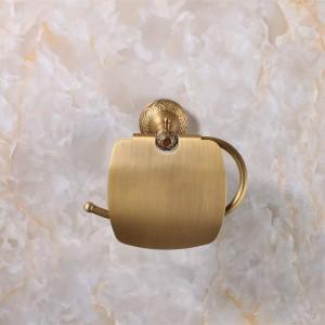 Antike Bronze Finishing Papierhalter / Rollenhalter / Tissue Holder Messing Bau Badzubehör Hohe Qualität 9051K