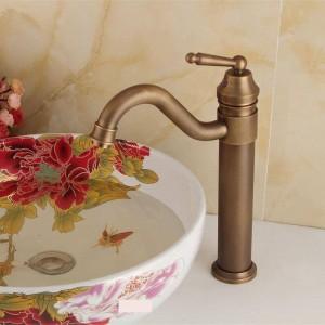 Antike Küchenarmatur Waschbecken Waschbecken Wasserhahn Antqiue Messing Waschbecken Wasserhahn Bad Wc Mischbatterie
