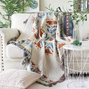 Aura der Liebe Decke Thread Sofa Cover geometrische Schutz Cover Schonbezug Cobertor Decken für Betten Quaste Weihnachten zu werfen