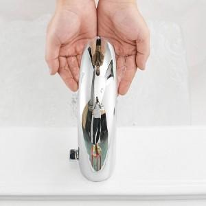 Waschtischarmaturen Automatische Wasserhahn Infrarot Waschbecken Wasserhahn Berührungslose Induktive Elektrische Deck Wc Waschmischer Wasserhahn 8906