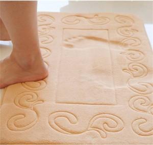 Bad Anti Slip Teppich Europäischen Stil Langsam Rebound Schwamm Pad Bad Wc Kissen Saugfähigen Fußmatte Memory Foam Badematte
