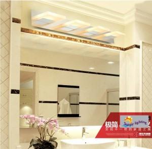 Badezimmer führte Wandlampe Innenbeleuchtung 3-4 PC-Neuheitspiegelleuchte moderne geführte Wand beleuchtet Schlafzimmerwand-Leuchterlampe