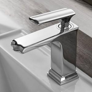 Waschbecken Wasserhahn Grifo Bano Becken Wasserhahn Schwarz Wasserhahn Einhandloch Badewanne Heiß Kalt Mischbatterie Kran 855085
