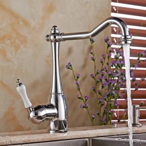Bad Wasserhahn Waschtischkran für Bad und Küche Bad Wasserhahn Einhand Küchenspüle Wasserhahn Mischbatterie LH-6030L