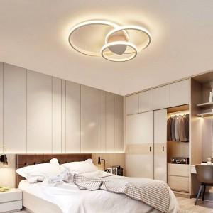 Schlafzimmer Wohnzimmer Deckenleuchten Moderne LED Deckenleuchte mit Fernbedienung