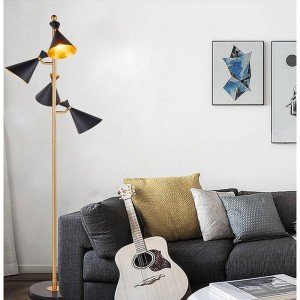 LED Stehleuchte American Modern Stehleuchte Living Room Floor Hotel Lighting Nachttischlampe E27 LED Birne von DHL