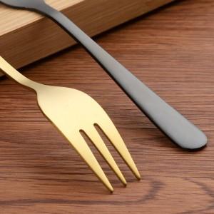 18/10 Edelstahl Dinner Fork 5,6-Zoll-Set von 12-teiligen spiegelpolierten Besteck Utensilien Great Salad Silver Forks