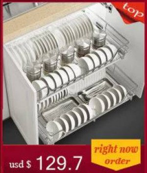 Körbe, die Accesorios schieben, vereinbaren für Kabinett-Pantries-Edelstahl-Küchen-Organisator-Küchenschrank-Ablagekorb
