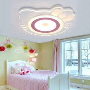 Kinderzimmer Deckenleuchte Mädchen Prinzessin Zimmer Kreative Warme Hellokitty Katze Zimmer Schlafzimmer Kinderzimmer Led Acryl deckenleuchte