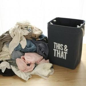 Stofflagereimer behindern Wäschekorb-Wäschereiablagekorb der schmutzigen Kleidung Wäschekorb-Wäschereiablagekorb der schmutzigen Kleidung