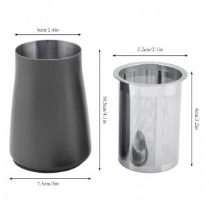 Kaffeesieb Sieb Pulver Mesh 304 Edelstahl Feinfilter Tasse Kaffeepulver Duft Tasse Schleifmaschine Zubehör