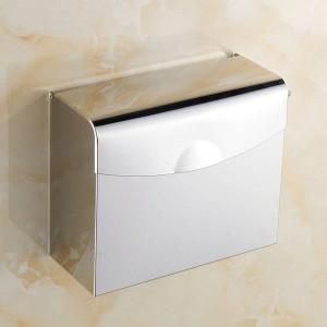 Papierhalter aus Kupfer / Edelstahl zur Wandmontage für Badezimmerzubehör 7010