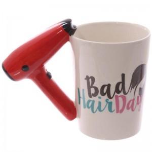 Kreative 3D handbemalte Keramik Tasse Fön Griff Kaffeetasse Becher Keramik Tassen verwendet, um Wasser Milch Kaffee etc. zu halten